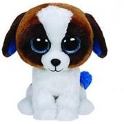 Jucarie De Plus Ty Beanie Boos Duke The Dog White & Brown Plush Toy 15Cm