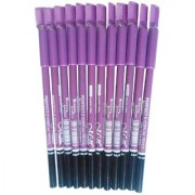 MN Perfect Waterproof Longlasting Eyebrow Pencil Pack Of 12pcs (Black)