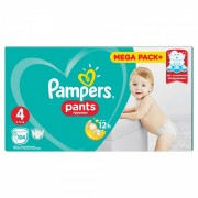 Scutece Pampers Active Baby Pants 4 Mega Box Pack, 104 buc/pachet
