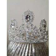 Корона с кристали за сватба и бал- Goddess Diana