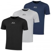 Oakley Mens 2020 Améliorer O-Fit Short Sleeve 3.7 Stretch T-Shirt Ardoise grise M