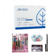 Jovees Pearl Whitening Mini Facial Value Kit (65 G) with Manicure-Pedicure Set Combo
