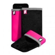 Калъф тип джоб Jim Thomson ReVerse Size M калъф за мобилни телефони, черен-розов