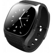 "Smartwatch iUni U26, LCD Capacitive touchscreen 1.5"", Bluetooth, Bratara silicon (Negru)"