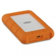 "LaCie Rugged USB-C - HDD extern, 2.5"", 4TB, 3600RPM, USB 3.0, USB Type-C"