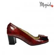 Pantofi dama din piele naturala 24702-1/Rosu/Rona