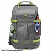 "Ranac za laptop 15.6"" HP Odyssey Sport Backpack grey/green, L8J89AA"