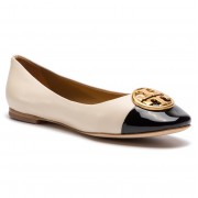 Балеринки TORY BURCH - Chelsea Cap-Toe Ballet 46882 New Cream/Perfect Black 100