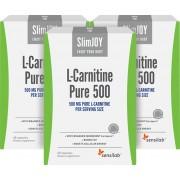 SlimJOY L-carnitina Pura 500 - brucia grassi. Qualità svizzera. 3x 60 capsule