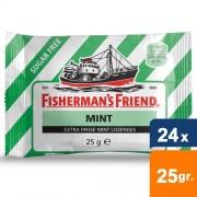 Fisherman's Friend - Mint suiker vrij - 24x25gr