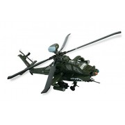 Bravo Team U.S. Ah 64 D Apache Longbow Vehicle (1:48 Scale)