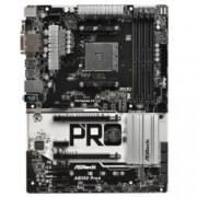 Дънна платка ASRock AB350 Pro4, B350, AM4, DDR4, PCI-E(HDMI&DVI), 6x SATA 6Gb/s, 1x Ultra M.2, 1x M.2 slot, 5x USB 3.0, ATX