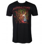 tricou stil metal bărbați Cannibal Corpse - RED BEFORE BLACK - PLASTIC HEAD - PH10714