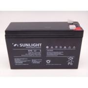 Sunlight 12V 6Ah acumulator AGM VRLA SPA 12-6