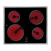TEKA Placa de Vitrocerámica TEKA VTC B (Eléctrica - 60 cm - Negro)