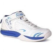 ProAse White/Blue Basketball Shoes