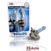 BEC FAR H4 P43t 60/55W 12V BLUE VISION ULTRA PHILIPS