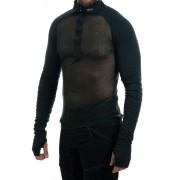 Brynje Arctic Zip Combatshirt - Tröjor - Grön - L