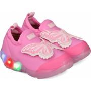 Pantofi Sport Fete Bibi Space Wave Cu Lumini-Fluturas 31 EU