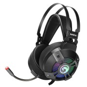 HEADPHONES, Marvo HG9015G, Gaming, 7.1, Microphone, RGB, Black
