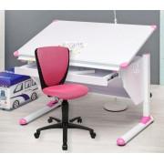 MSZ Design Kinderschreibtisch Set VARIANT mit Stuhl High S`Cool pink