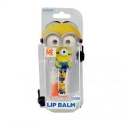 Minions 3D Lip Balm 4,5g Грижа за устните Unisex Нюанс - Banana