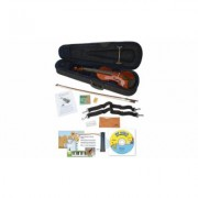 eMedia Music My Violin Starter Pack for Kids with Interactive Lessons 1/8 Size (EV05161G)