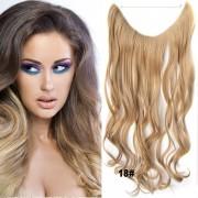 Flip in vlasy - vlnitý pás vlasů - odstín 18 - Světové Zboží