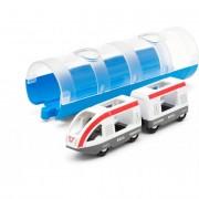 Utasszállító vonat alagúttal Brio