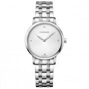 Wenger Urban Donnissima Reloj de cuarzo acero inoxidable white-silver-silver