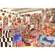 Puzzle The House of Puzzles - Head Over Heels, 500 piese XXL (56766)
