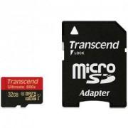 Карта памет Transcend 32GB micro SDHC UHS-I, MLC, 600x - TS32GUSDHC10U1