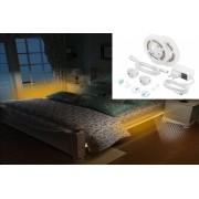 LED pasy sada pod posteľ + schody 2x 1,5M pás na senzor pohybu + nastaviteľný jas - PACK