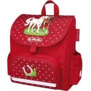 Ghiozdan Herlitz Mini Softbag Horses, neechipat, ergonomic, 14 x 26 x 24 cm