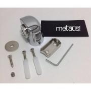 Prendedor De Porta Com Imã Magnético kit com 18 unidade Cromado