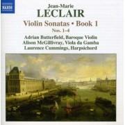 J.M. Leclair - Violin Sonatas Book 1 (0747313088874) (1 CD)