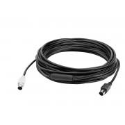 Logitech Extender Cable for Group 10m Black 939-001487
