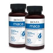 MACA (Organic) 500mg 120 Capsules VALUE PACK