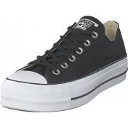 Converse Chuck Taylor All Star Lift Ox Black/white/black, Skor, Sneakers & Sportskor, Låga sneakers, Svart, Dam, 39