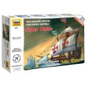"Christopher Columbus flagship ""Santa Maria"" hajó makett Zvezda 6510"