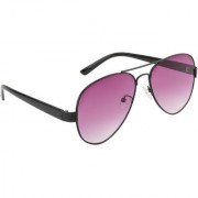 Ochila Pink UV Protection Aviator Unisex Sunglasses