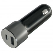 Satechi USB-C Car Charger - Space Grey