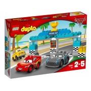 Lego Klocki konstrukcyjne DUPLO Wyścig o Złoty Tłok 10857