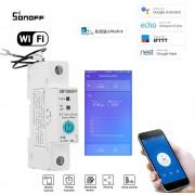 WiFi inteligentný spínač 1P s meraním spotreby elektrickej energie