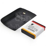 BlackBerry EM1 Усилена 2200 mAh Батерия + Капак BlackBerry 9360