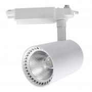 MasterLed - Foco LED carril orientável 30W branco - MasterLed