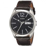 Guess Quartz Brown Round Men Watch W0658G3