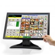 Moniteur tactile LCD 19 pouces - 1440x900 / VGA / AV / HMDI / TV