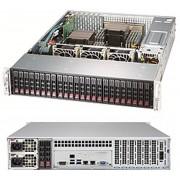 Supermicro 2028R-ACR24L Intel C612 LGA 2011 (Socket R) 2U Zwart