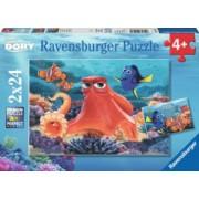 PUZZLE IN CAUTAREA LUI DORY 2x24 PIESE Ravensburger